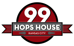99 hops house logo