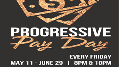 logo for progressive pay day promotion