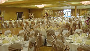 banquet wedding set up